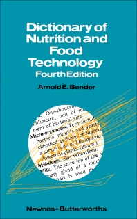 Cover image for Dictionary of Nutrition and Food Technology