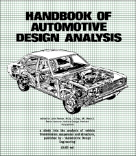 Cover image for Handbook of Automotive Design Analysis