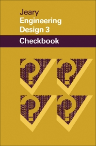 Engineering Design 3 Checkbook - 1st Edition - ISBN: 9780408006538, 9781483105406