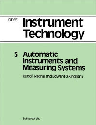 Automatic Instruments and Measuring Systems - 1st Edition - ISBN: 9780408015325, 9781483135595