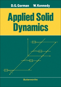 Applied Solid Dynamics - 1st Edition - ISBN: 9780408023092, 9781483106243