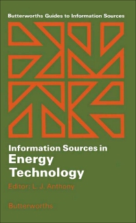 Information Sources in Energy Technology - 1st Edition - ISBN: 9780408030502, 9781483192338