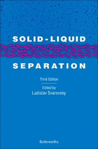 Solid-Liquid Separation - 3rd Edition - ISBN: 9780408037655, 9781483162805