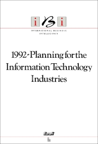 Cover image for 1992-Planning for the Information Technology Industries