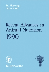 Recent Advances in Animal Nutrition - 1st Edition - ISBN: 9780408041508, 9781483100210