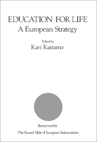 Education for Life: A European Strategy - 1st Edition - ISBN: 9780408045148, 9781483100135