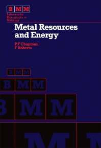 Metal Resources and Energy - 1st Edition - ISBN: 9780408108010, 9781483161891