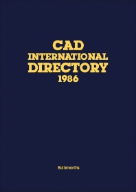 Cover image for CAD International Directory 1986