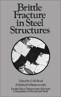 Brittle Fracture in Steel Structures - 1st Edition - ISBN: 9780408700429, 9781483192505