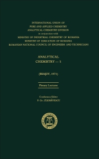 Analytical Chemistry—3 - 1st Edition - ISBN: 9780408703895, 9781483284712