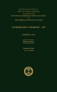 Coordination Chemistry—XIV - 1st Edition - ISBN: 9780408704700, 9781483284729