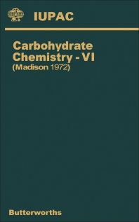 Cover image for Carbohydrate Chemistry—VII