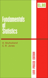 Fundamentals of Statistics - 1st Edition - ISBN: 9780408706766, 9781483106045