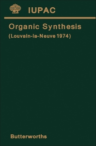 Organic Synthesis - 1st Edition - ISBN: 9780408707251, 9781483156170