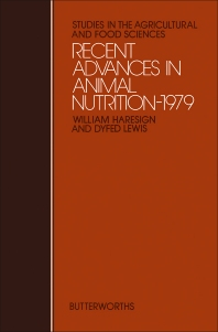 Recent Advances in Animal Nutrition – 1979 - 1st Edition - ISBN: 9780408710121, 9781483164427