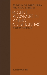 Recent Advances in Animal Nutrition - 1st Edition - ISBN: 9780408710145, 9781483100265