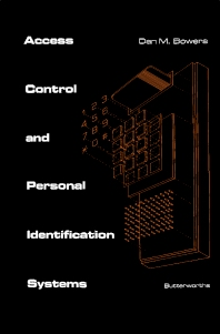 Access Control and Personal Identification Systems - 1st Edition - ISBN: 9780409900835, 9781483144887