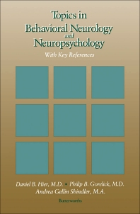 Cover image for Topics in Behavioral Neurology and Neuropsychology