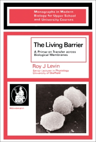 The Living Barrier - 1st Edition - ISBN: 9780433192404, 9781483281186