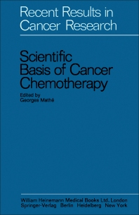 Scientific Basis of Cancer Chemotherapy - 1st Edition - ISBN: 9780433203506, 9781483281001