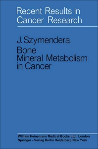 Cover image for Bone Mineral Metabolism in Cancer