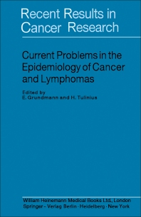 Current Problems in the Epidemiology of Cancer and Lymphomas - 1st Edition - ISBN: 9780433328346, 9781483164182