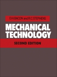 Mechanical Technology - 2nd Edition - ISBN: 9780434900787, 9781483141688