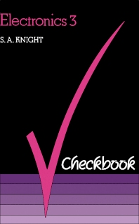 Electronics 3 Checkbook - 2nd Edition - ISBN: 9780434910182, 9781483135397