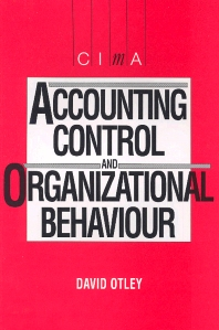 Accounting Control and Organisational Behaviour - 1st Edition - ISBN: 9780434914807, 9780080928883