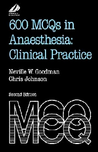 600 MCQs in Anaesthesia