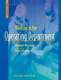 Cover image for Working in the Operating Theater