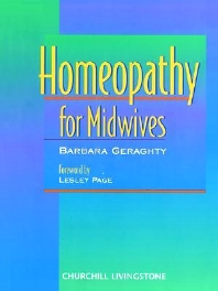 Homeopathy for Midwives - 1st Edition - ISBN: 9780443057083