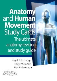 Anatomy and Human Movement Study Cards