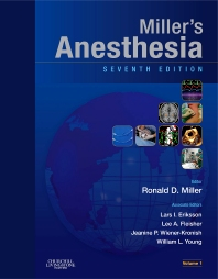 Cover image for Miller's Anesthesia 2 volume set