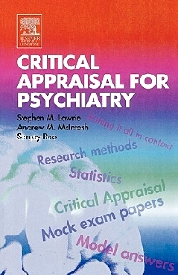 Critical Appraisal for Psychiatrists, 1st Edition,Stephen Lawrie,Andrew McIntosh,Sanjay Rao,ISBN9780443070174