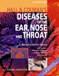 Cover image for Hall & Colman's Diseases of the Ear, Nose and Throat, International Edition