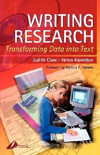 Cover image for Writing Research