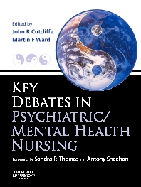 Cover image for Key Debates in Psychiatric/Mental Health Nursing