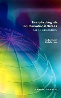 Cover image for Everyday English for International Nurses