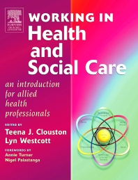 Cover image for Working in Health and Social Care