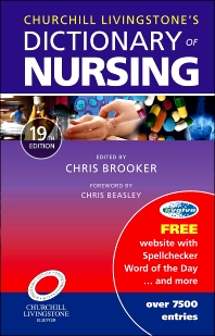 Cover image for Churchill Livingstone Dictionary of Nursing, International Edition