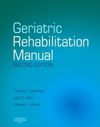 Cover image for Geriatric Rehabilitation Manual