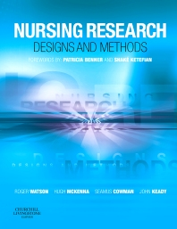 Nursing Research: Designs and Methods - 1st Edition - ISBN: 9780443102776, 9780702033490