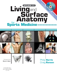 Cover image for Atlas of Living & Surface Anatomy for Sports Medicine with DVD