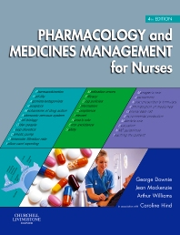 Cover image for Pharmacology and Medicines Management for Nurses