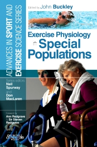 Cover image for Exercise Physiology in Special Populations