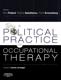 Cover image for A Political Practice of Occupational Therapy