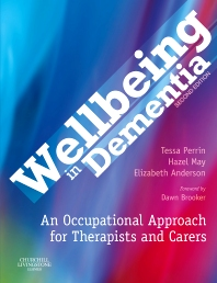 Cover image for Wellbeing in Dementia