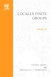 Cover image for Locally Finite Groups