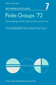 Finite Groups Æ72 - 1st Edition - ISBN: 9780444104519, 9780080871189